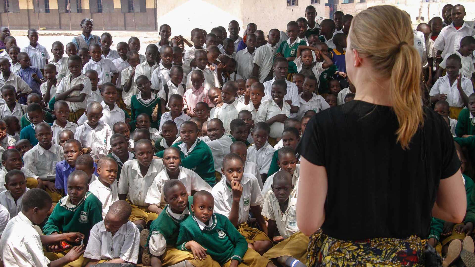Student in Uganda